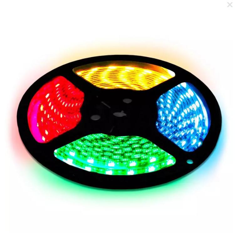 OEM Світлодіодна стрічка OEM ST-12-5050-60-RGB-65, герметична, 1м