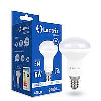 Світлодіодна лампа Lectris R50 6W 4000K 220V E14 1-LC-1402