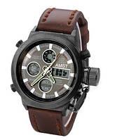 Чоловічі годинники AMST AM3003 темно-коричневі