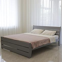 Кровать деревянная полуторная Глория (массив бука)