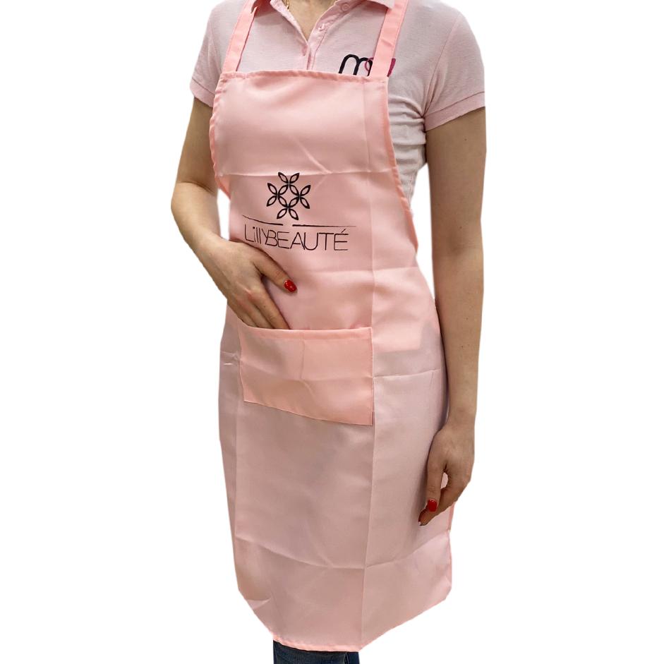Фартук Lilly Beaute длинный светлый розовый