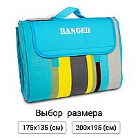 Килимок туристичний для пікніка та пляжу Ranger кемпінговий