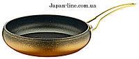 Сковорда OMS 3241 GL (Золото - 28 х 7) 3,5 л