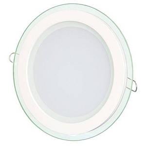 Світильник світлодіодний Biom GL-R6 W 6Вт круглий білий (LY-6)
