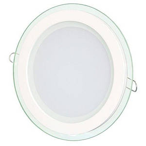 Світильник світлодіодний Biom GL-R12 W 12Вт круглий білий (LY-12)
