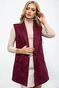 Жилетка жіноча 102R5091 колір Сливовий XL