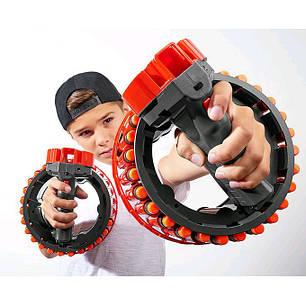 Игрушечное оружие автоматический бластер Growler   28 зарядов, фото 2