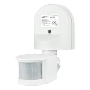 Инфракрасный датчик движения BIOM IRM-01W max 1200Вт 180°, настенный,белый