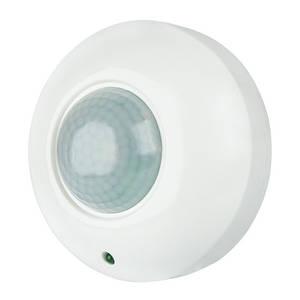 Инфракрасный датчик движения BIOM IRM-03W max 1200Вт 360° , потолочный, белый