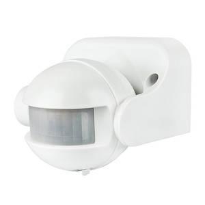 Инфракрасный датчик движения BIOM IRM-04W max 1200Вт 180° , настенный белый