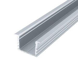 Профиль алюминиевый BIOM врезной ЛПВ12 12х16 анодированый, (палка 2м), м