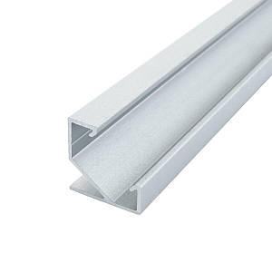 Профиль алюминиевый BIOM угловой ЛПУ17 17х17анодированный (палка 2м), м