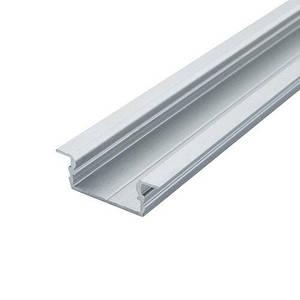 Профиль алюминиевый BIOM врезной ЛПВ7 7х16, неанодированный (палка 2м), м
