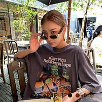 Сонцезахисні окуляри жіночі 0976, фото 3