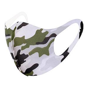 Захисна маска Pitta Military PA-M, розмір: дорослий, military