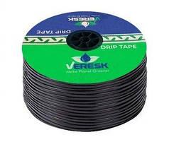 """Капельная лента щелевая """"Ultra Tape"""". 1000м. 10см 6mill 1,3 л/ч Иран"""