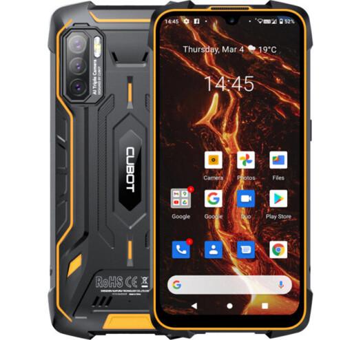 Защищенный смартфон Cubot KingKong 5 Pro 4/64Gb Orange  MediaTek MT6762D 8000 мАч