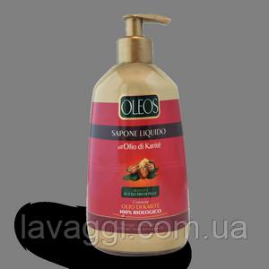 Гель для душа и пена для ванной с маслом Карите Oleos Bagno Schiuma Karite 1000 ml