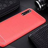 Силиконовый противоударный чехол Polished Carbon для Samsung Galaxy A50 (A505F) / A50s / A30s, фото 2