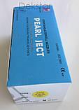 Голки cтоматологічні каpпульні PEARL JECT (100 шт), METRIC (Е 0,4 * 35 мм) блакитні, фото 2