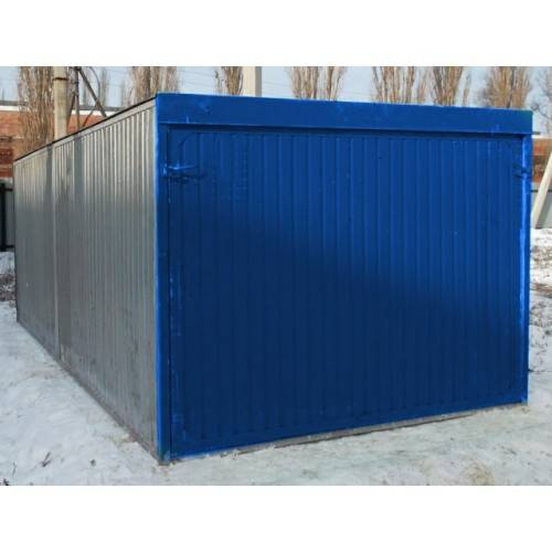 Гараж из железа цена как построить гараж с подвалом фото