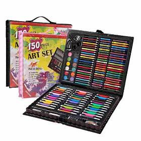 Набор для детского творчества Набор на 150 предметов в чемоданчике Art Set 150 черный