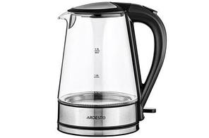 Чайник Ardesto EKL-F110 (2150Вт, 1.7л, Strix контроль, стекло, LED подсветка)