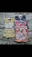 Костюм для дівчинки на 1-4 років жовтого, рожевого, персикового, сірого кольору оптом