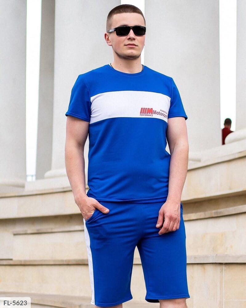 """Чоловічий спортивний костюм з шортами """"motorsport"""""""