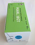 Голки cтоматологічні каpпульні PEARL JECT (100 шт), METRIC (Е 0,3 * 25 мм) зелені, фото 2