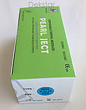 Иглы cтоматологичеcкие каpпульные PEARL JECT ( 100 шт ),METRIC ( Е 0,3*25 мм ) зеленые, фото 2