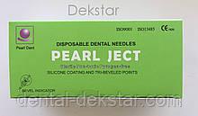 Голки cтоматологічні каpпульні PEARL JECT (100 шт), METRIC (Е 0,3 * 25 мм) зелені