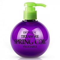 Еластин BIOAQUA Treasure Coil Spring Vegetable для укладання волосся з відновлюючим ефектом 250 г