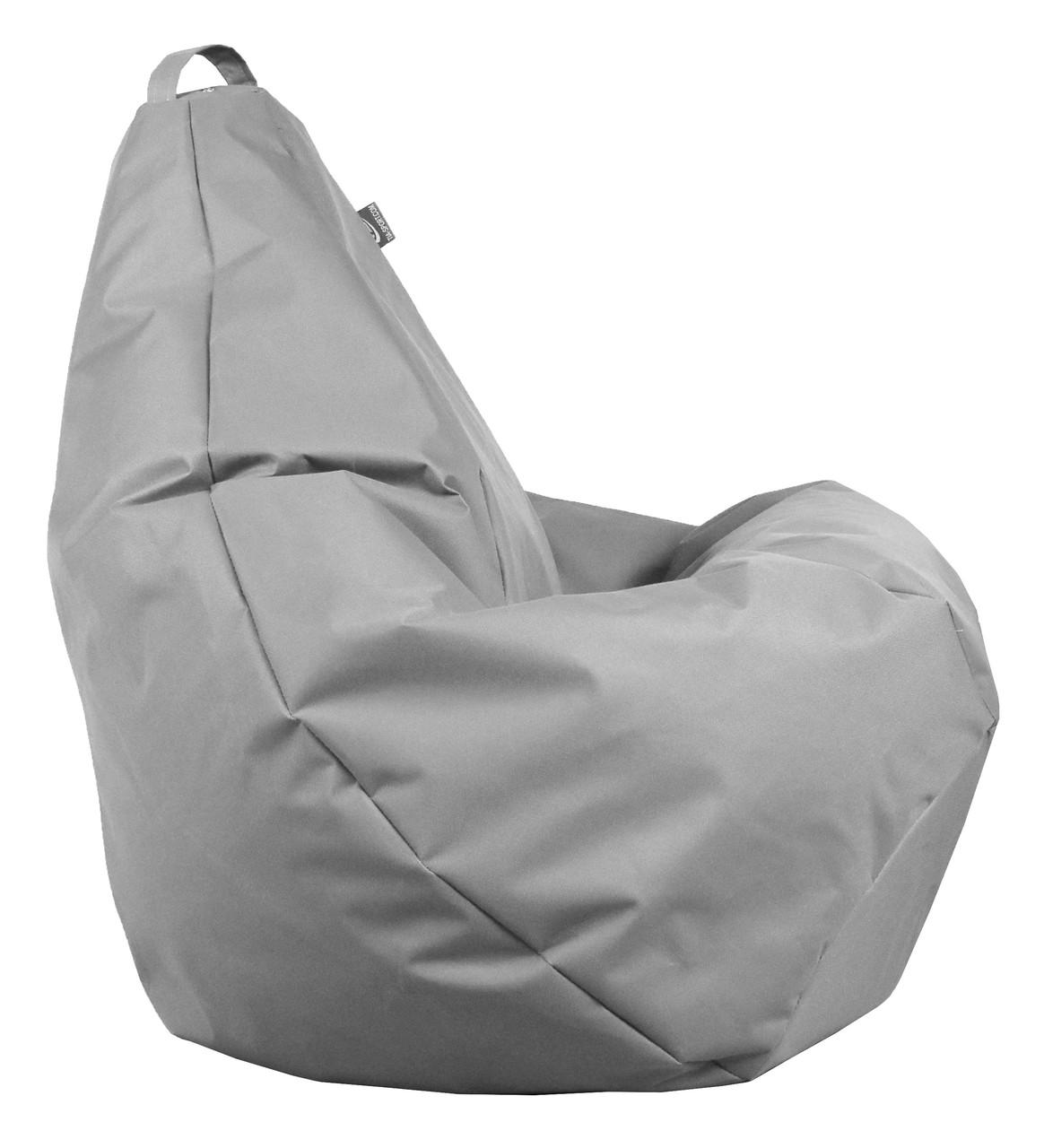 Кресло груша Оксфорд Серый TIA-SPORT. ТС254