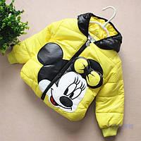 """Куртка """"Мики желтенькая"""""""
