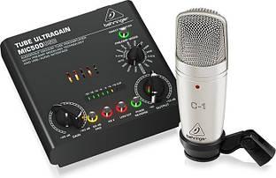 Комплект для звукозапису Behringer VOICE STUDIO