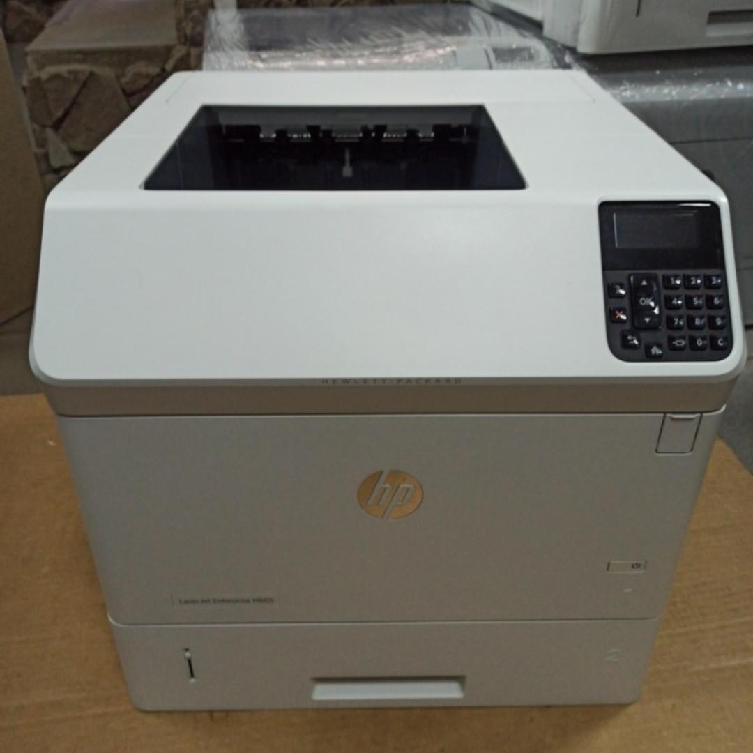 Принтер HP LaserJet Enterprise M605dn пробіг 4 тис з Європи