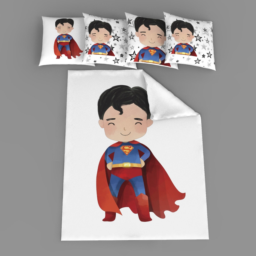 """Набор сатинових панелек """"Супермен"""""""