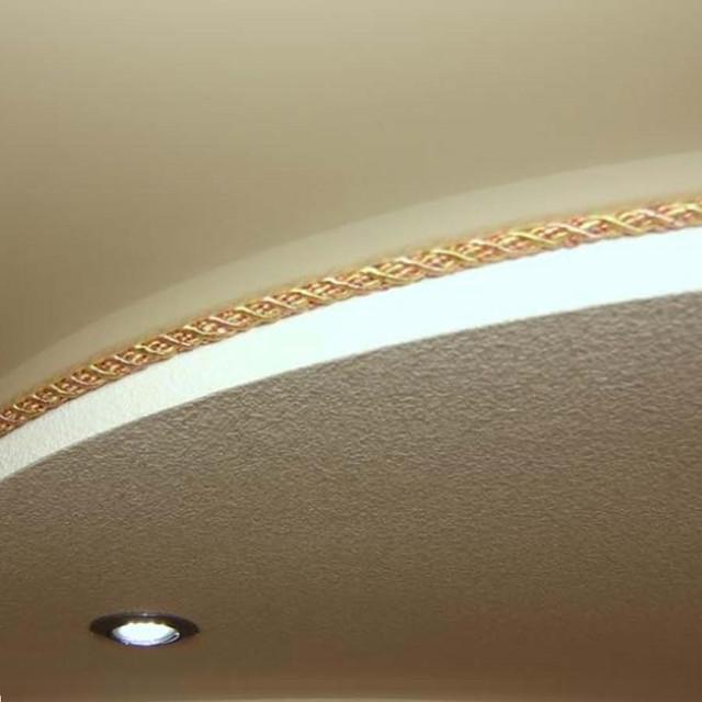 Шнуры декоративные для натяжных потолков, канты