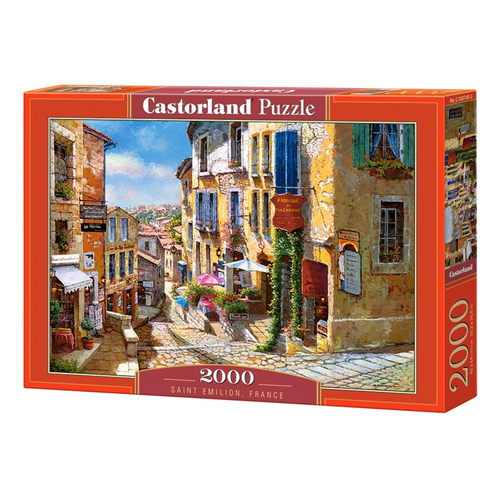 """Пазл """"Сент-Эмильон. Франция"""", 2000 элементов Castorland (5904438200740)"""