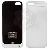 Чехол-батарея для iPhone 5 / 5S / SE, 2200 mAh, белый