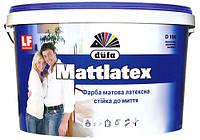 """Краска водно-дисперсионная  латексная """"Mattlatex"""" моющаяся Д-100 1.4 кг."""