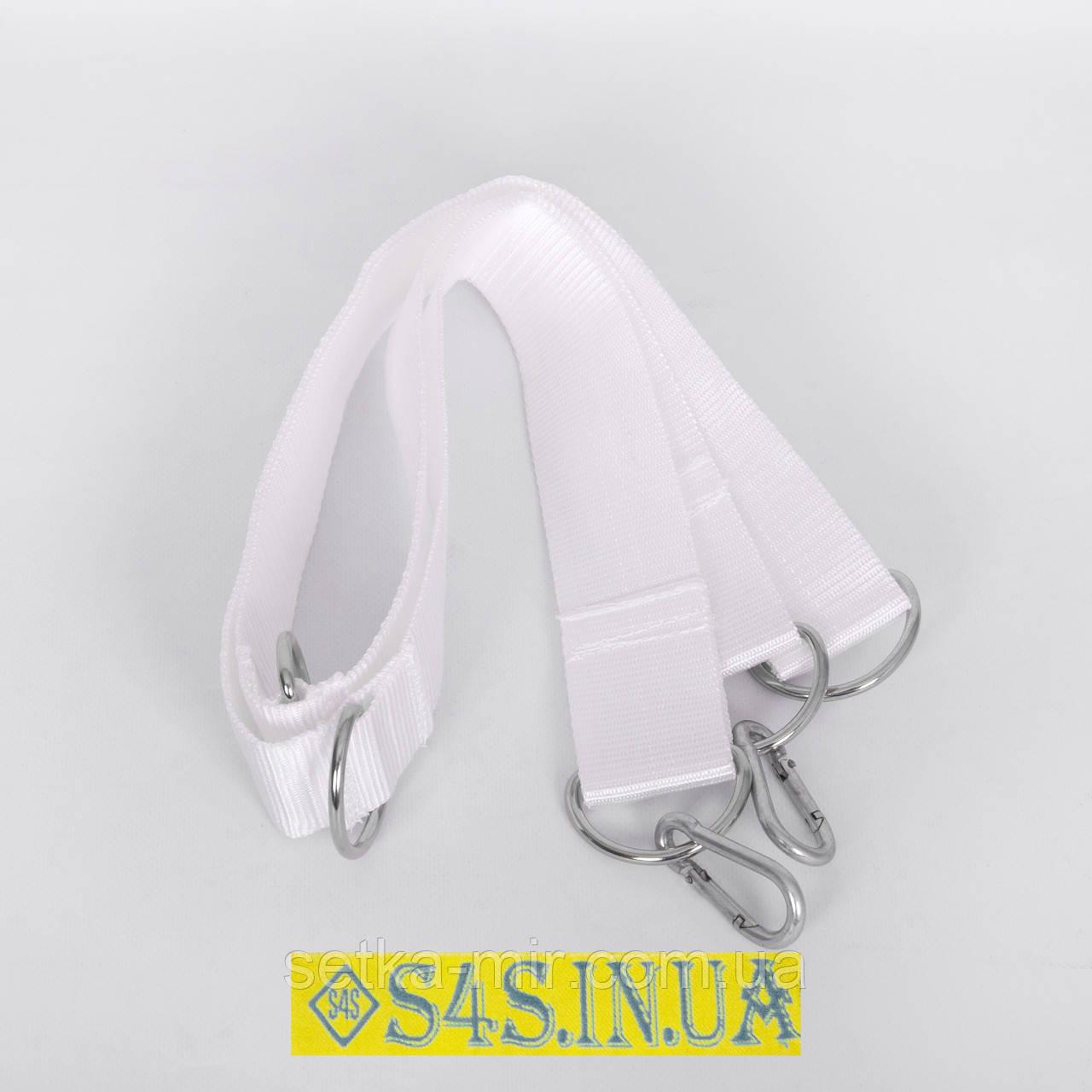 Система крепления Лента полипропиленовая для детские подвесные гимнастические веревочные спорттовары, белая