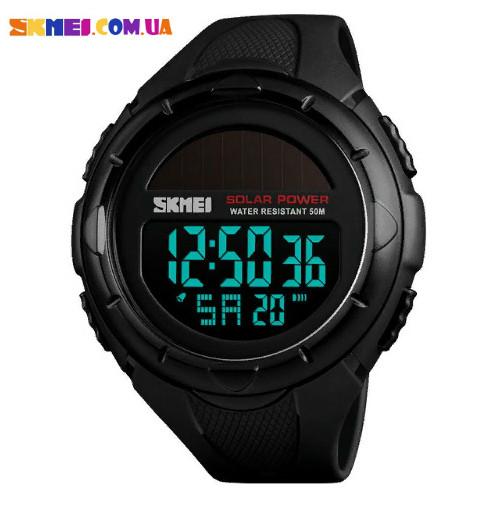 Годинник на сонячній батареї SKMEI 1405 (Black)