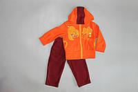 """Яркий и теплый костюм """"Блум"""" для девочек  48, Оранжевый"""