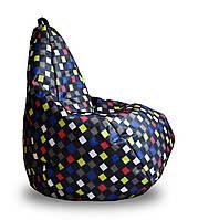Крісло груша Принт Клітини TIA-SPORT. ТС751, фото 1