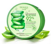 Гель для обличчя і тіла BioАqua Soothing & Moisture Aloe Vera 92% Soothing Gel, 220 г
