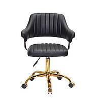 Кресло офисное JEFF GD- OFFICE эко кожа ,черный
