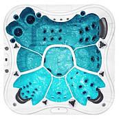 Гидромассажный бассейн IQUE Eden 2310-EP 229х229х96см (WiFi)