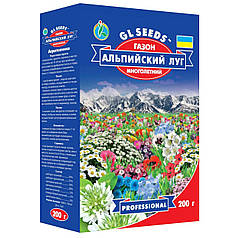 Семена газонной травы Альпийский луг 200г